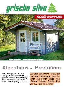 Gartenhau Alpenhaus Carport