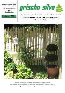 Kastanienzäune und Sichtschutz