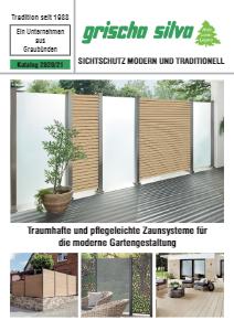 Sichtschutz Modern und Traditionell